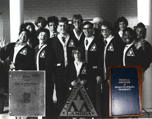 Fraternity ritual books from wikileaks conspirazzi - Lambda chi alpha wallpaper ...